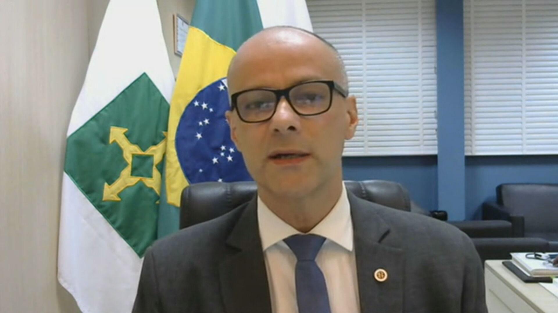 Diretor-presidente da Anvisa, Antônio Barra Torres, em entrevista para a CNN (22