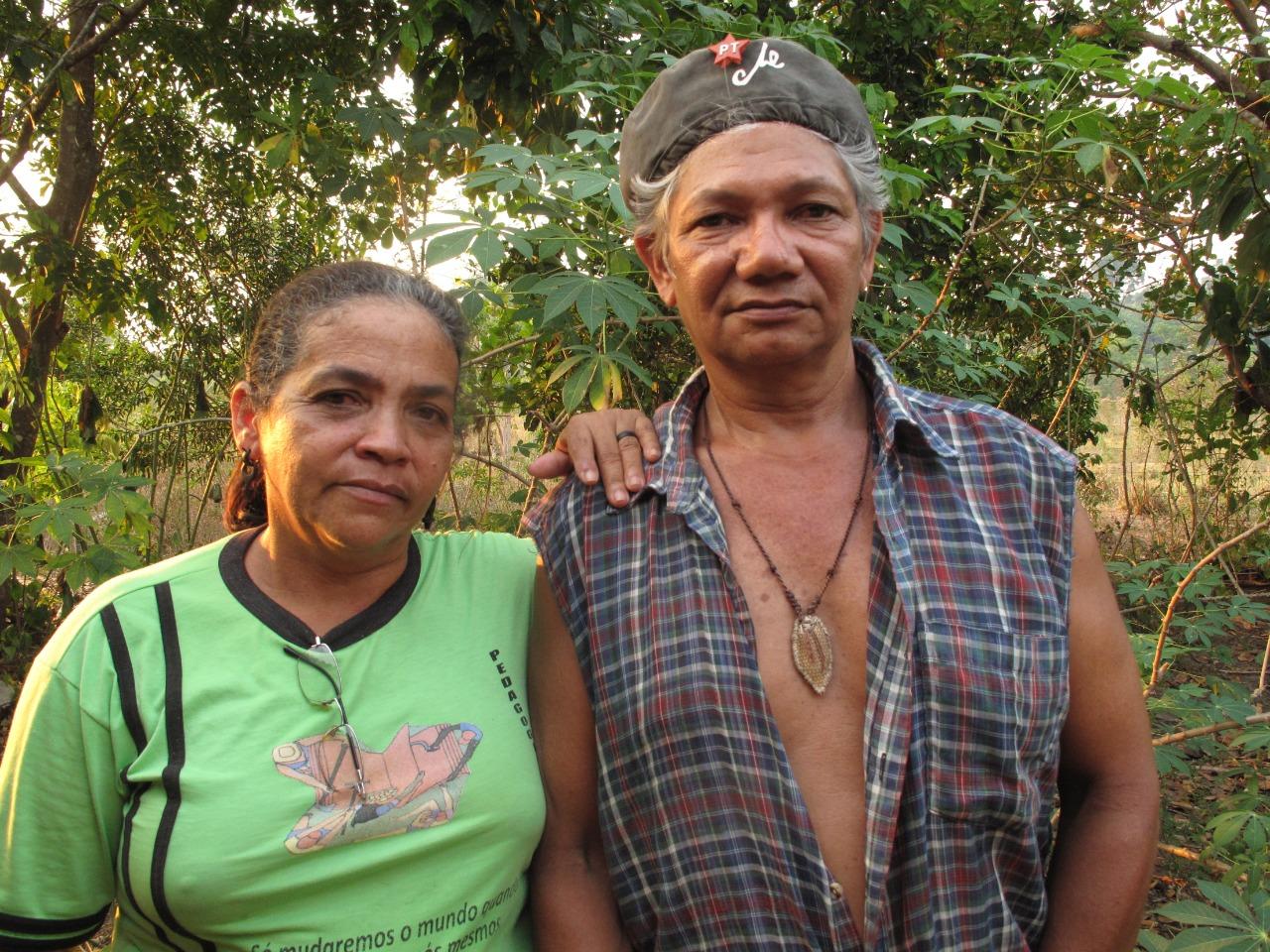 Casal de extrativistas assassinados por pistoleiros, em 24 de maio de 2011, no P