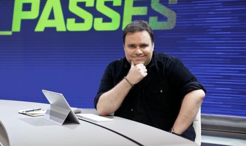 O apresentador esportivo Rodrigo Rodrigues