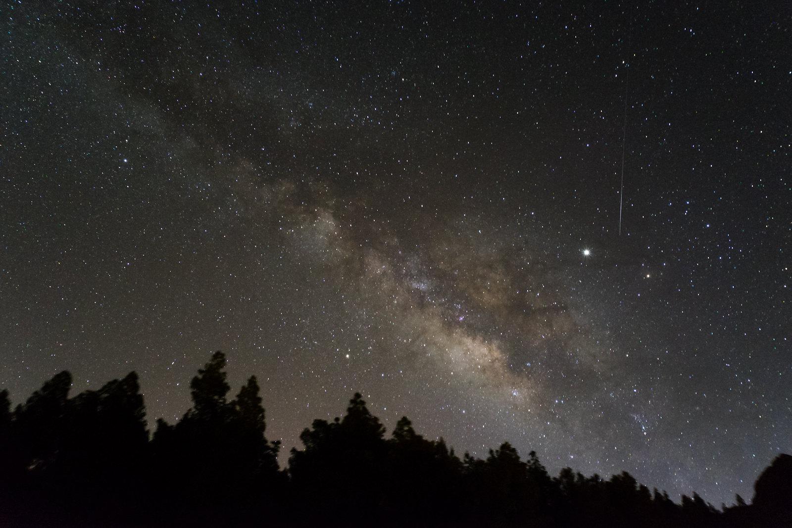 Meteoro Delta Aquárida capturado nas Ilhas Canárias