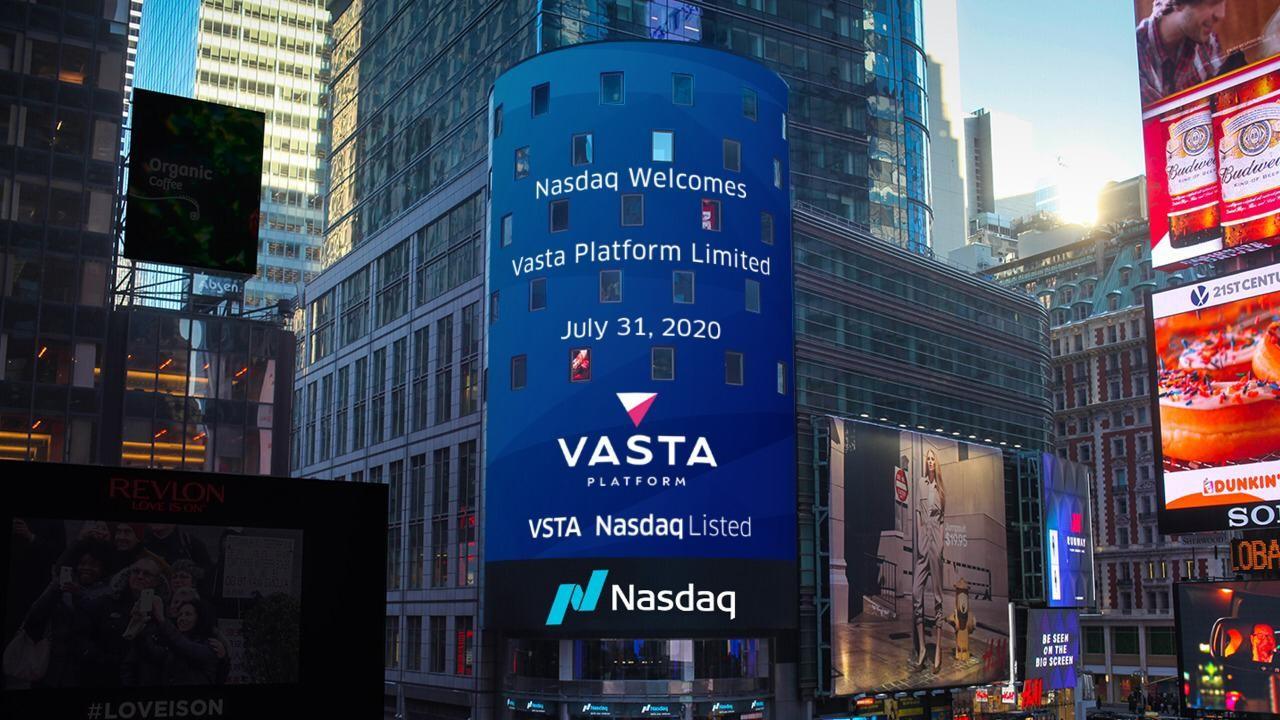 Vasta - empresa da Cogna - estreia na Nasdaq