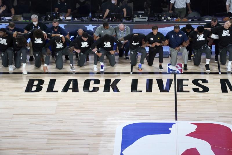 Protesto Black Lives Matter na NBA