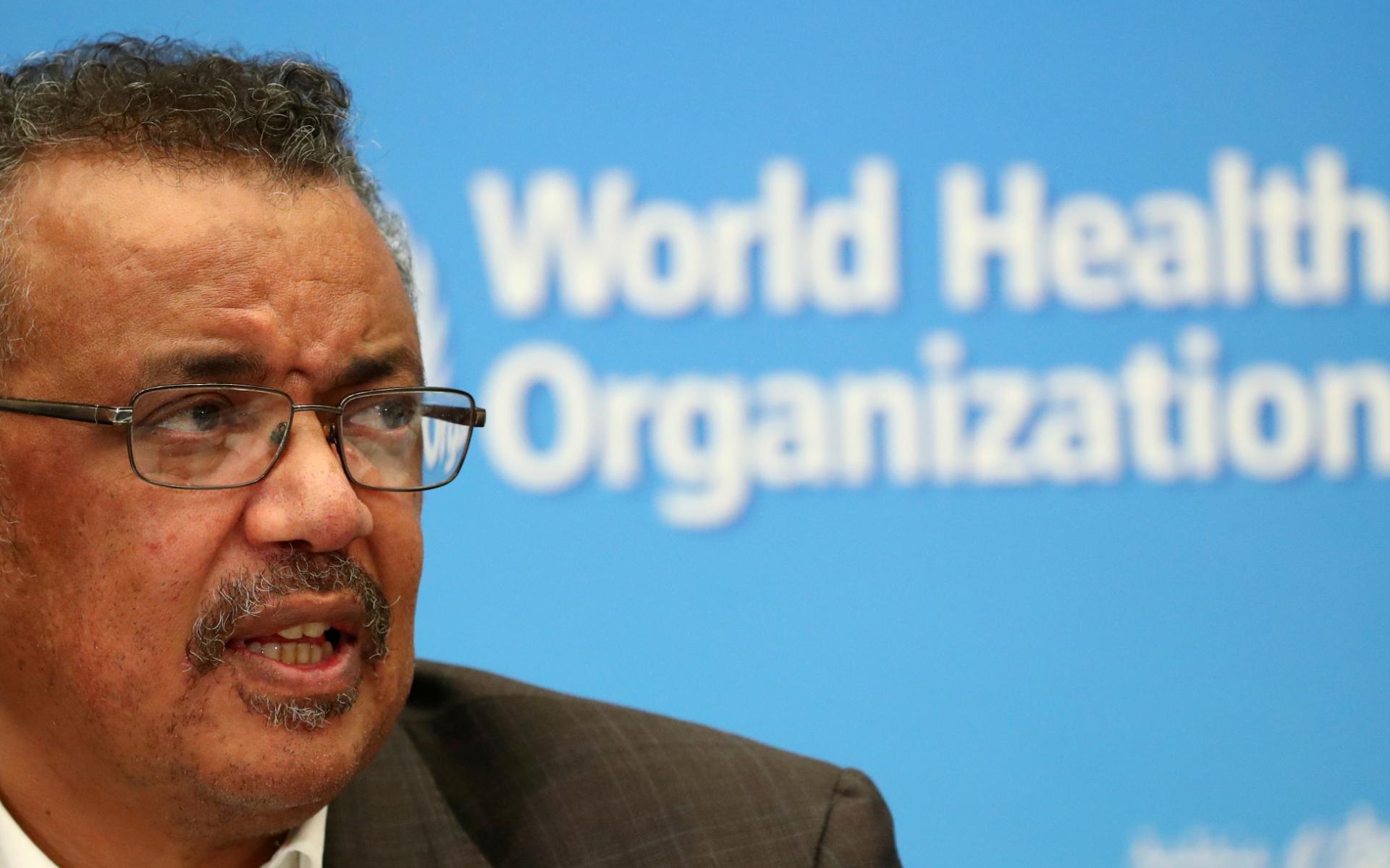 Diretor-geral da OMS, Tedros Adhanom, pediu uso de máscara como 'símbolo de sol