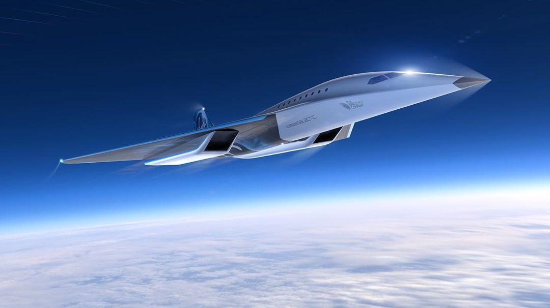 nova aeronave da virgin galactic