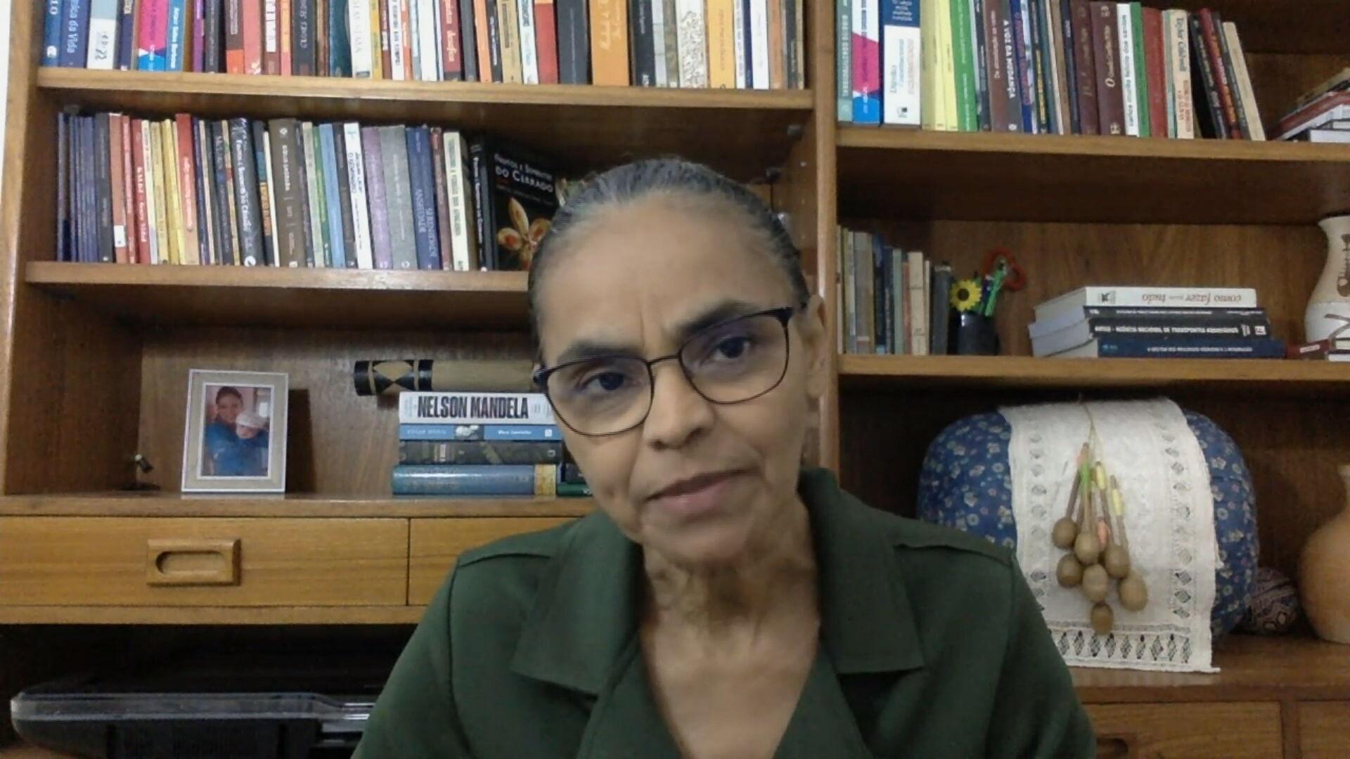 A ex-ministra do Meio Ambiente, Marina Silva
