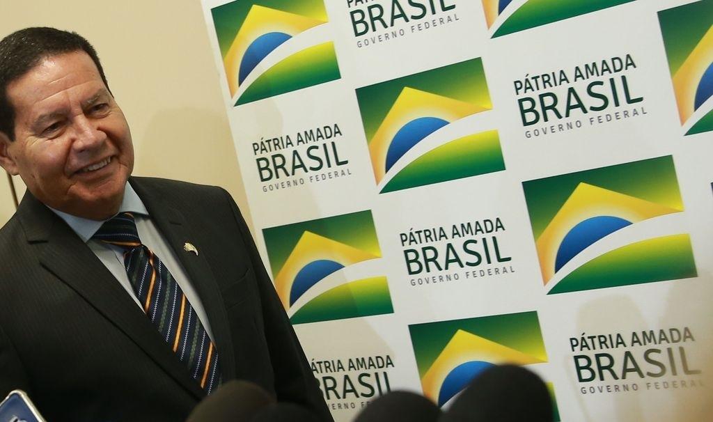 Vice-presidente Hamilton Mourão em Brasília