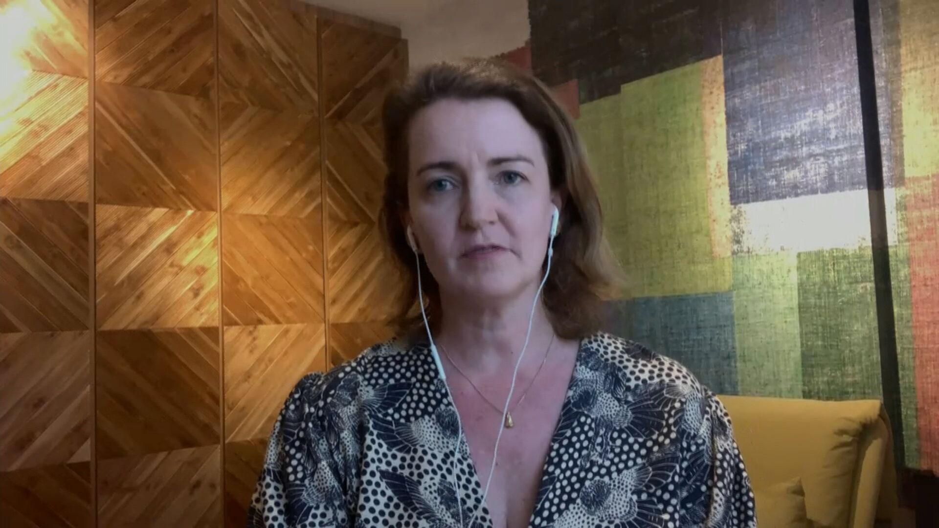 Cristiana Toscano, representante da Sociedade Brasileira de Imunizações e membro