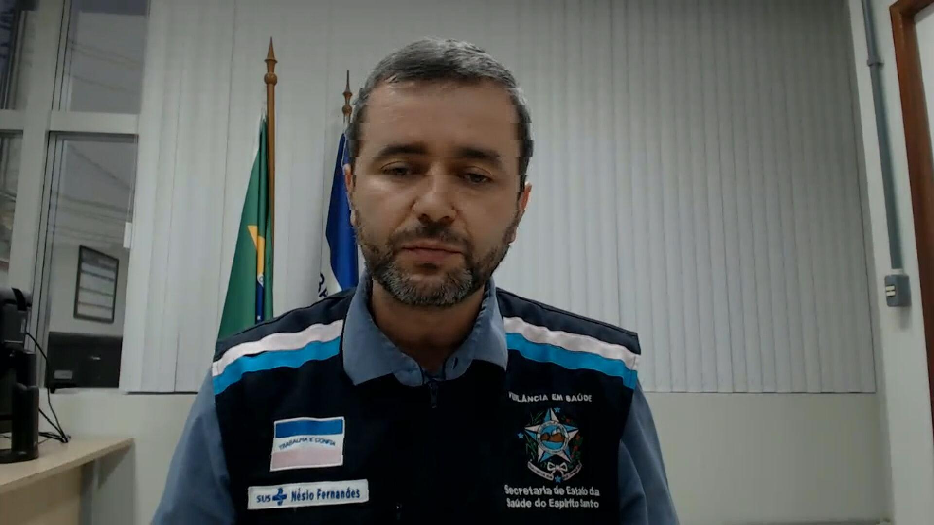 Nésio Fernandes, secretário de Saúde do Espírito Santo