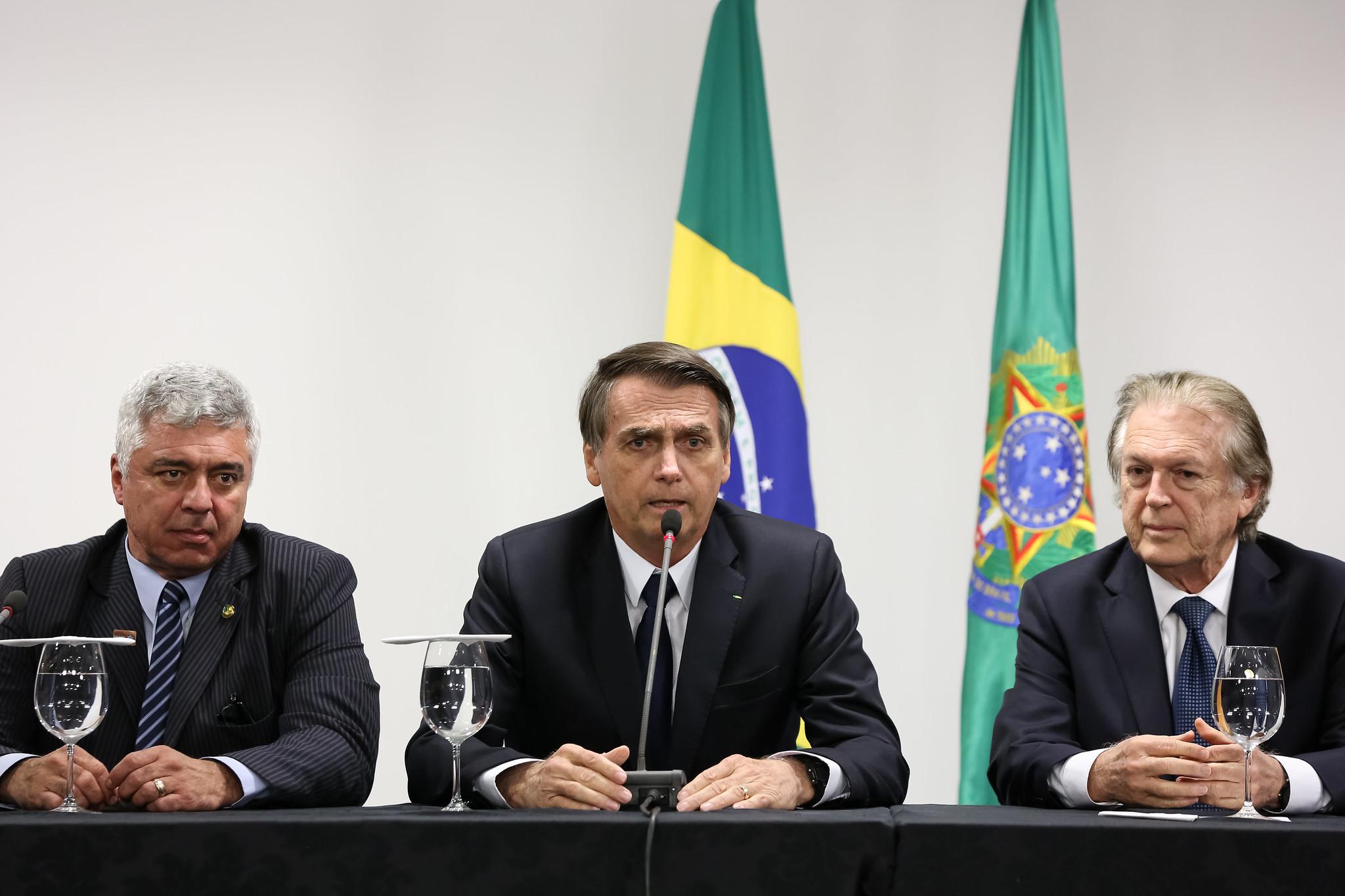 Major Olímpico, Jair Bolsonaro e Luciano Bivar