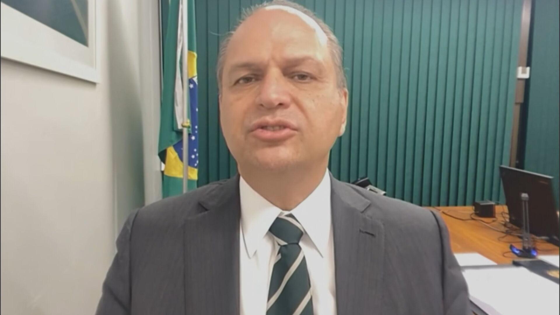 Deputado Federal Ricardo Barros (PP-PR), líder do governo na Câmara em entrevist