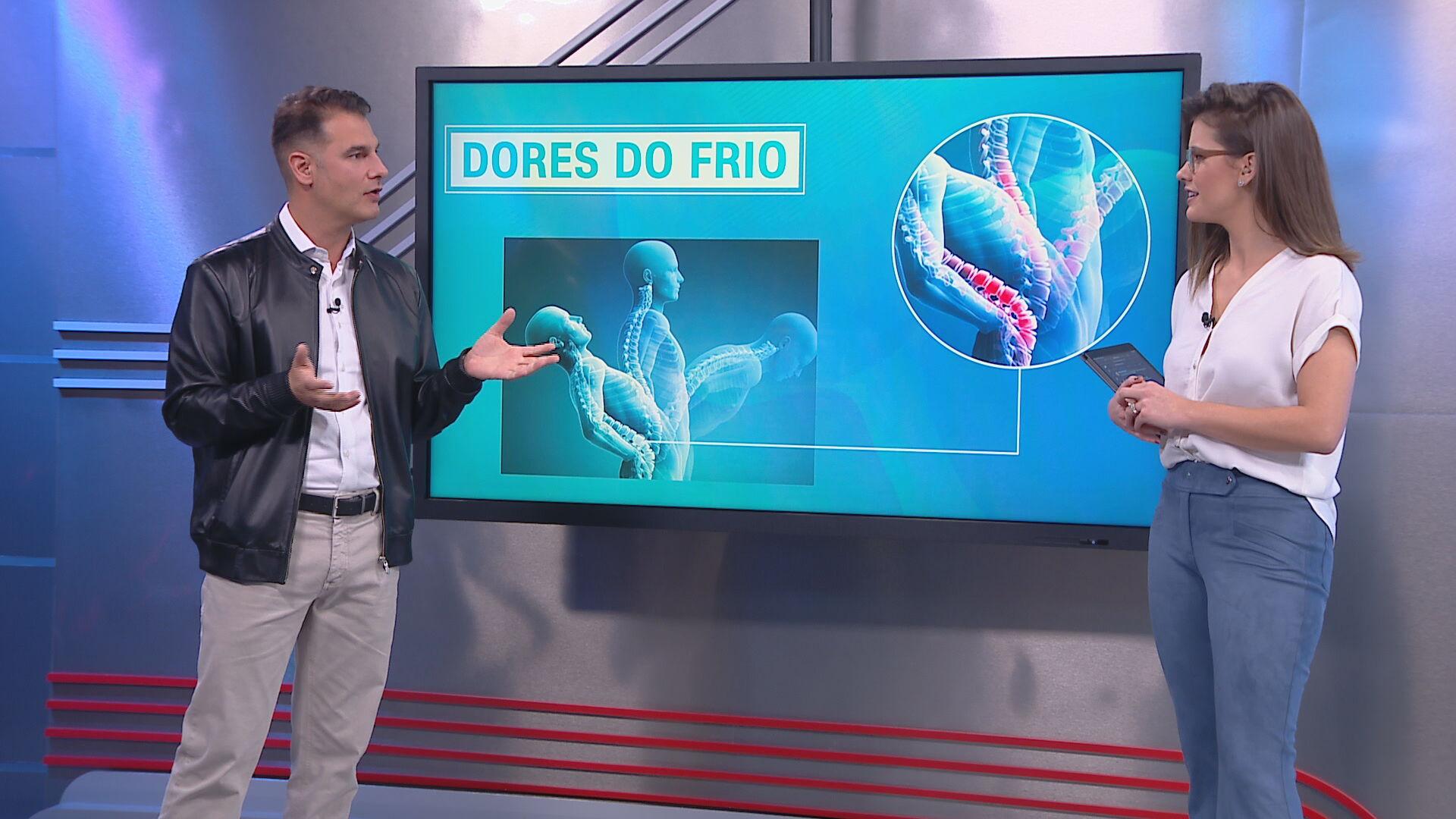 O neurocirurgião Fernando Gomes esclarece frio e dores musculares
