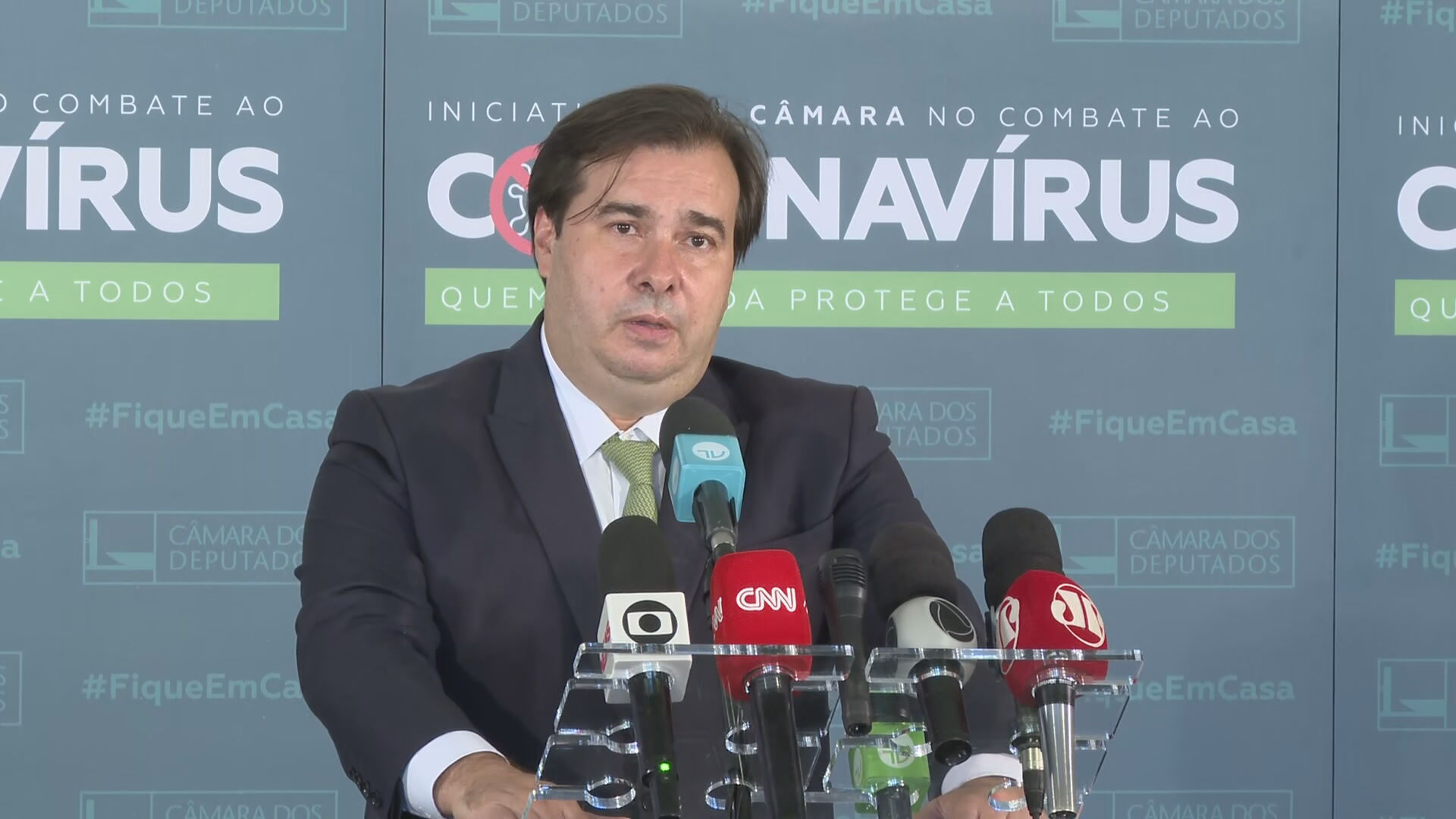 O presidente da Câmara, Rodrigo Maia (DEM-RJ)
