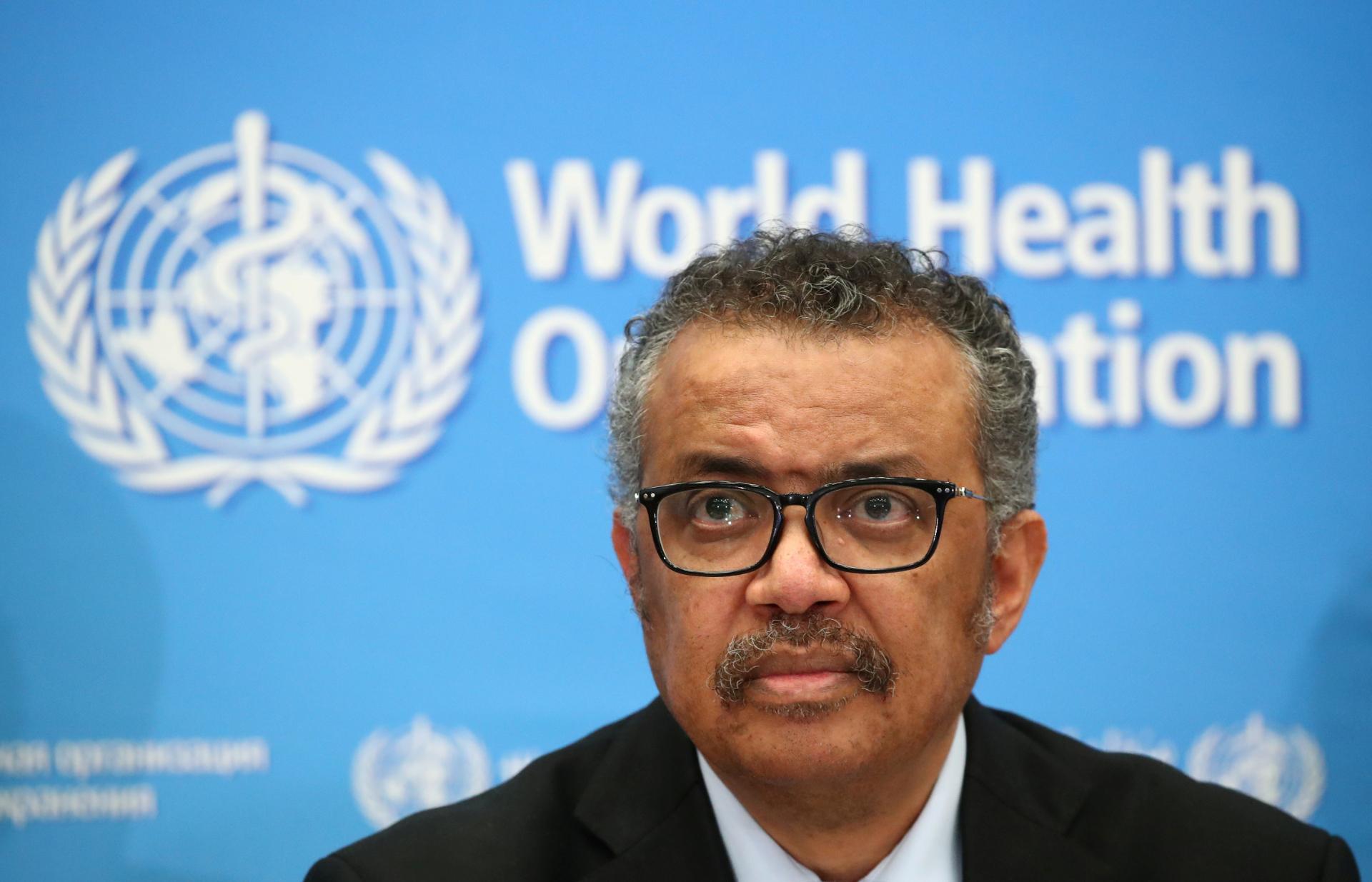 Tedros Adhanom, diretor-geral da OMS