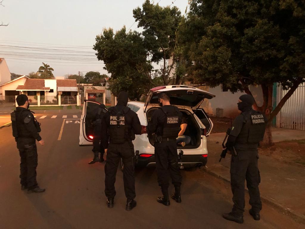 PF investiga facção criminosa que atua em todo o país