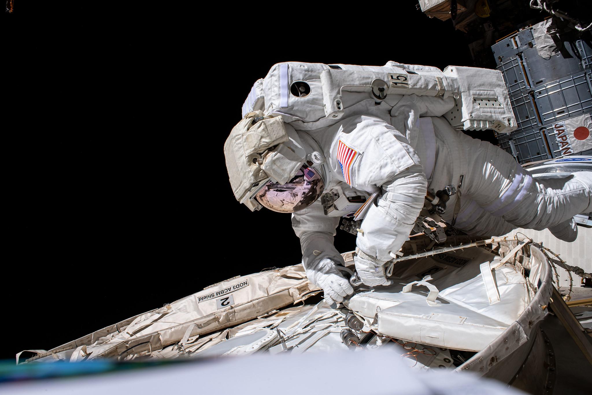 O astronauta da Nasa Chris Cassidy