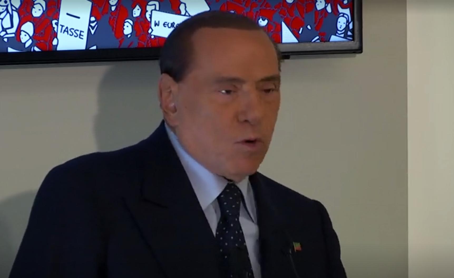 O ex-premiê italiano Silvio Berlusconi