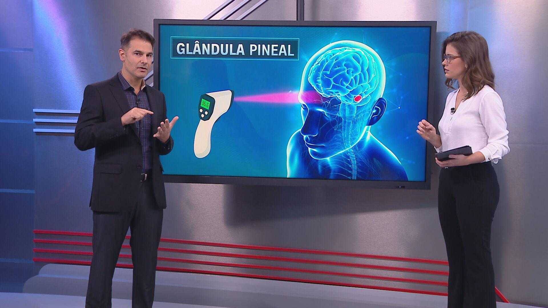 O neurocirurgião Fernando Gomes fala sobre a fake news sobre termômetro e Covid