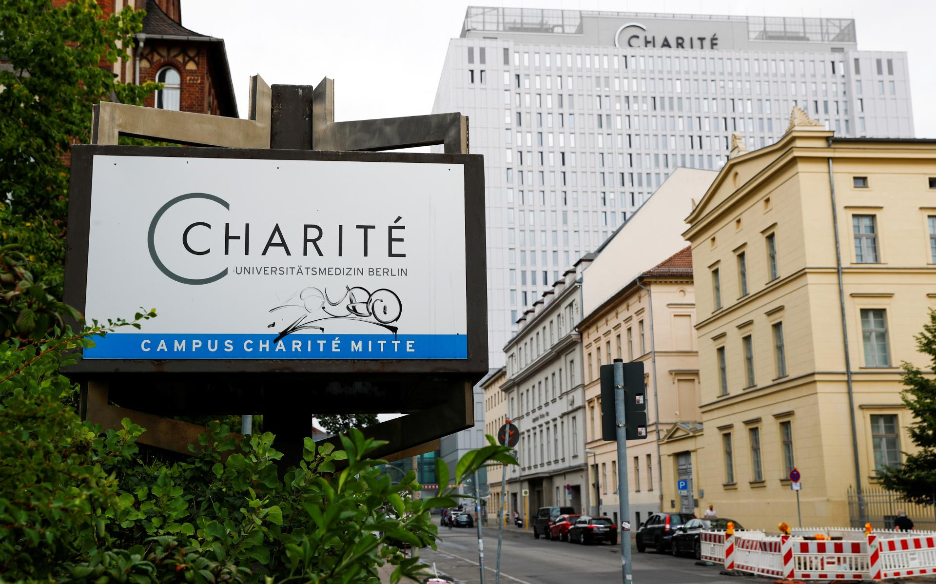 Hospital Charité, em Berlim