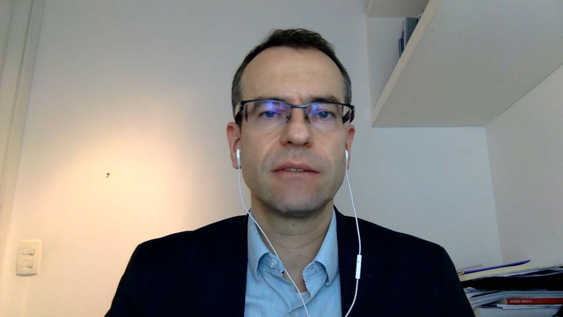 Alexandre Biasi, diretor do Insituto de pesquisa do HCor em entrevista para a C