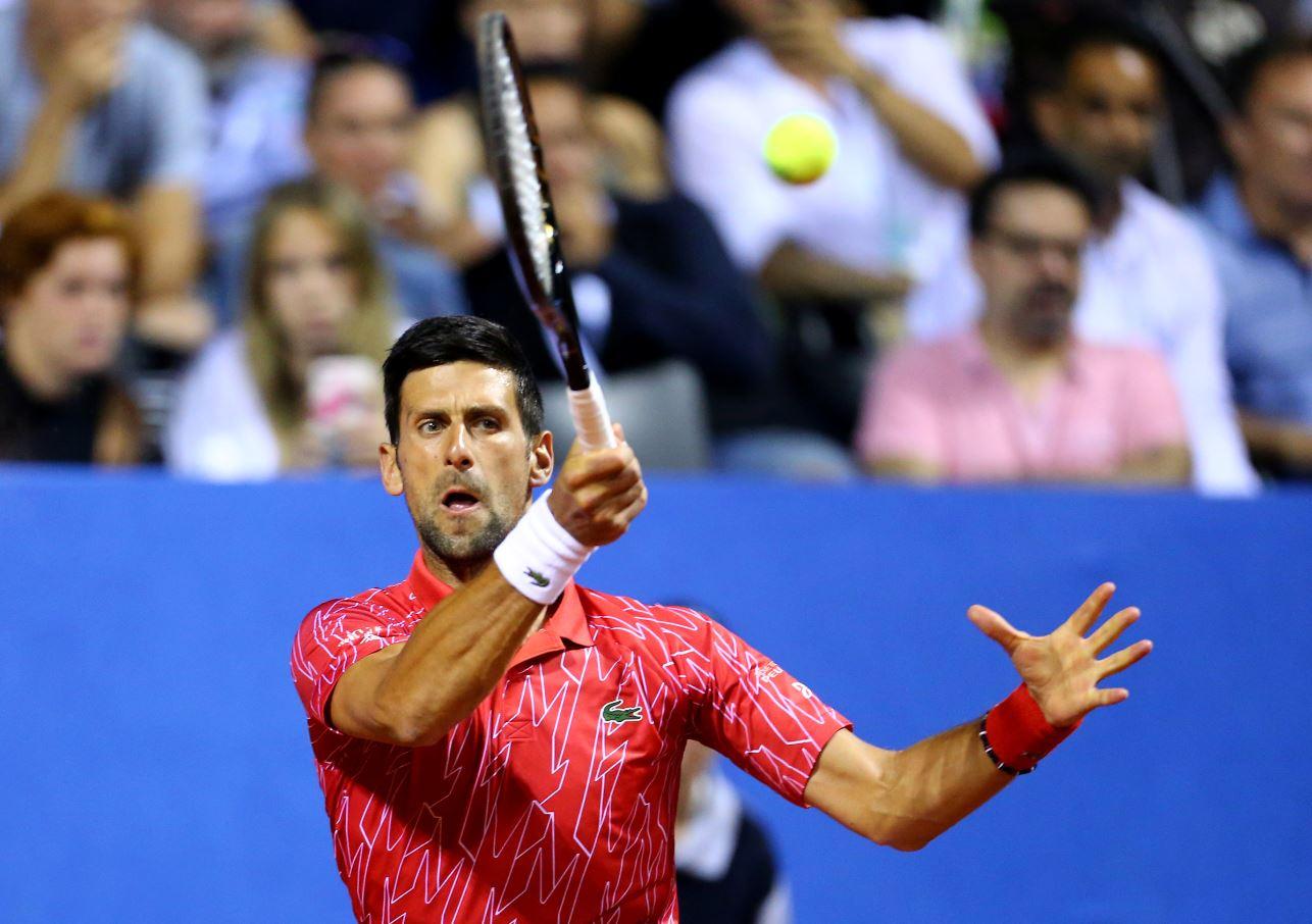 O tenista sérvio Novak Djokovic