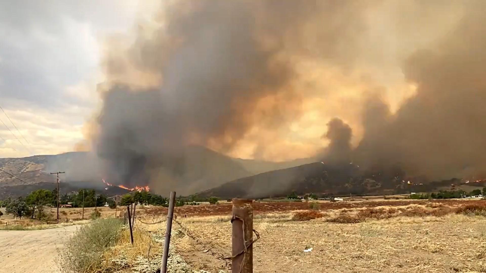 Incêndio florestal na Califórnia foi causado por equipamento em chá de bebê