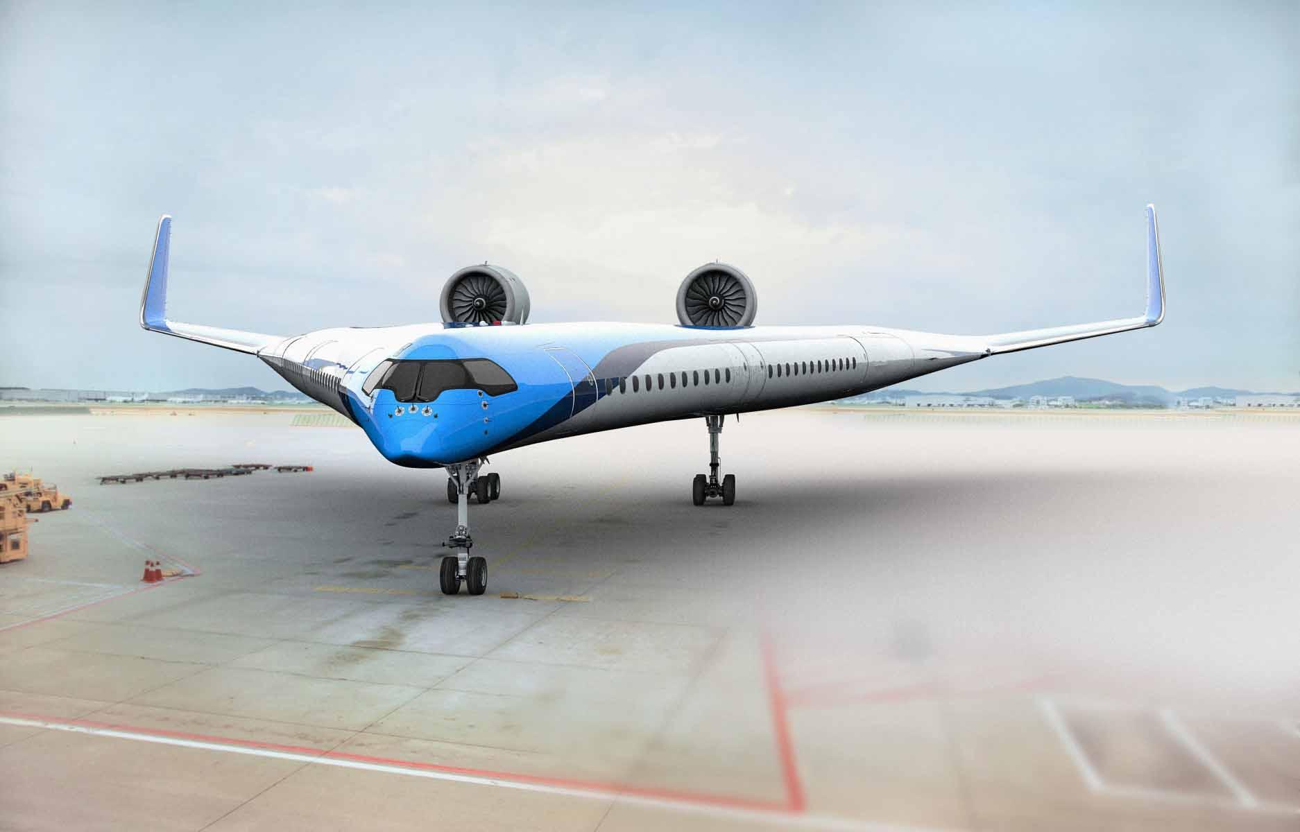 Pesquisadores testaram com sucesso modelo do avião futurístico Flying-V