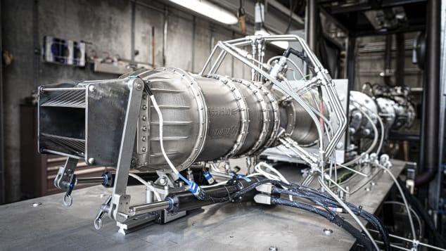 Hermeus testou com sucesso um protótipo de motor Mach 5 em fevereiro de 2020