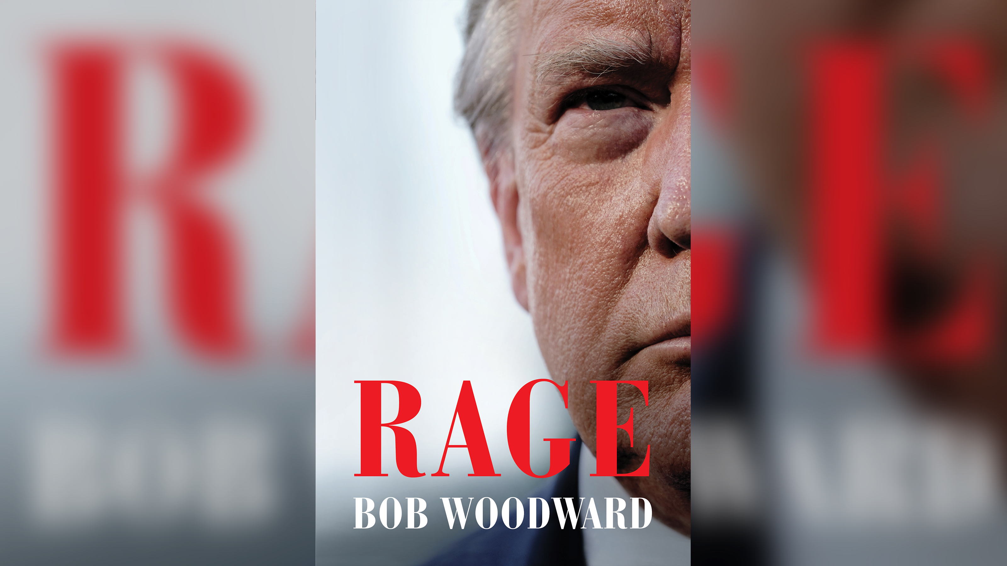 Capa do livro 'Rage', do jornalista Bob Woodward
