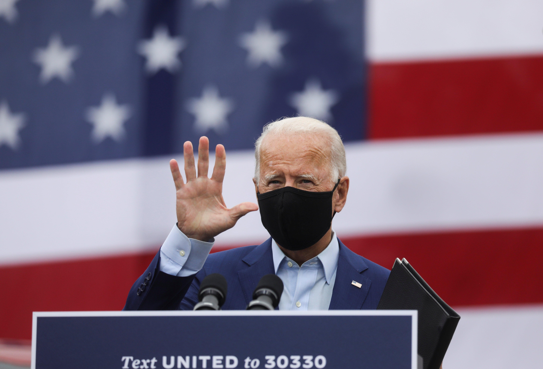 Biden discursando