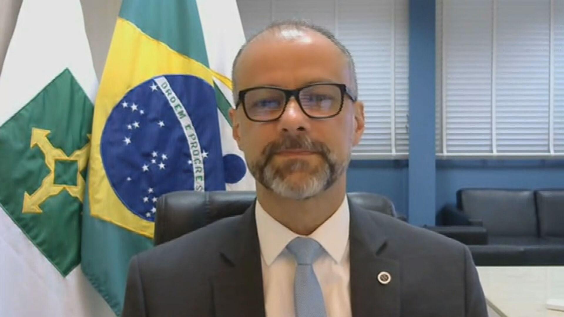 Diretor-presidente da Anvisa, Antonio Barra Torres, em entrevista à CNN  (09.set