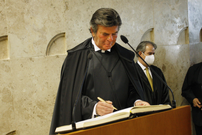 Ministro Luiz Fux toma posse como presidente do STF