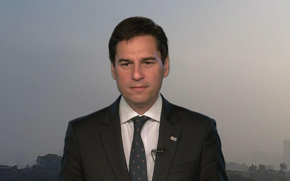 O secretário de Agricultura e Abastecimento do estado de SP, Gustavo Junqueira