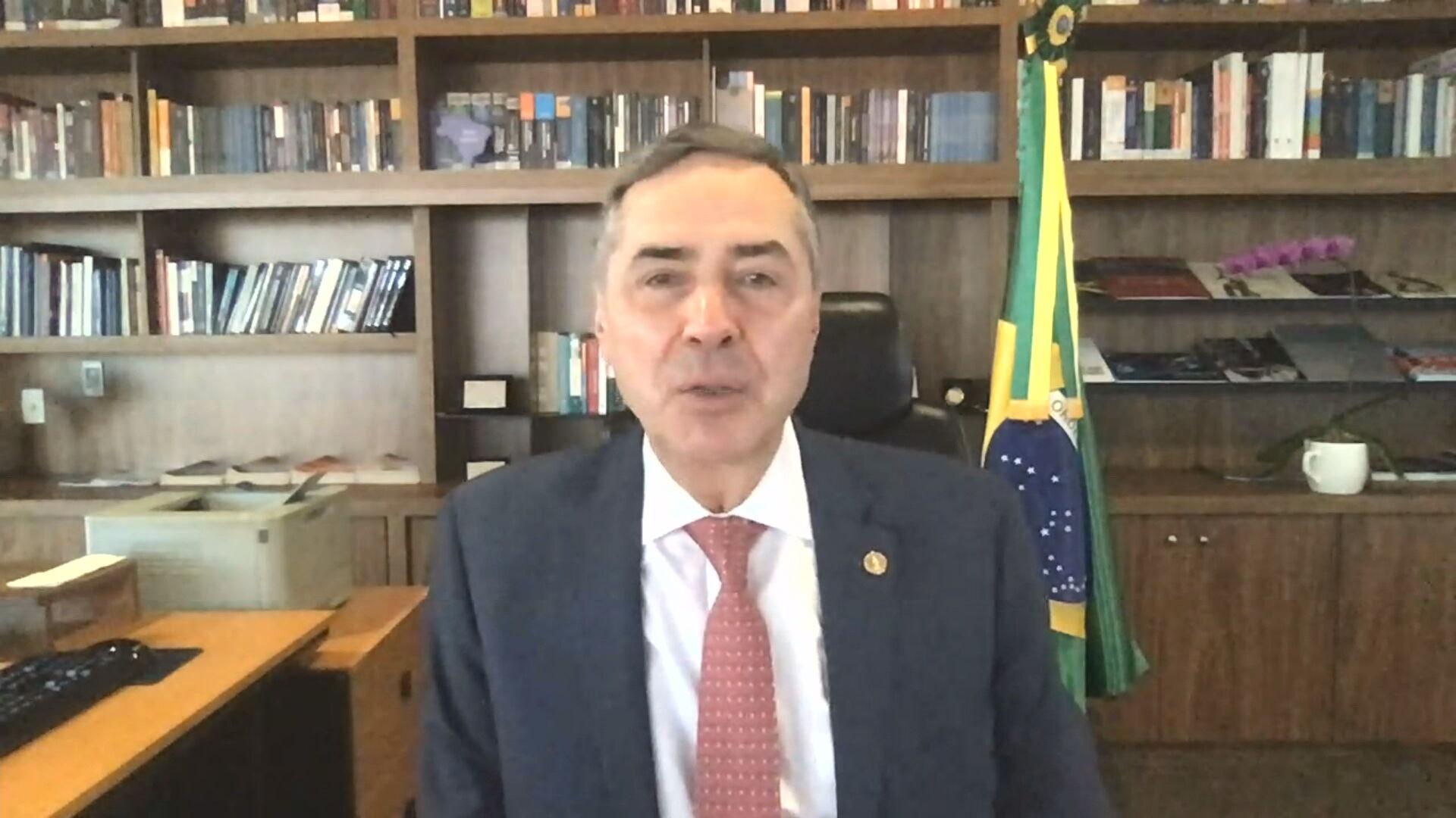 Ministro do Supremo Tribunal Federal e presidente do Superior Tribunal de Justiç