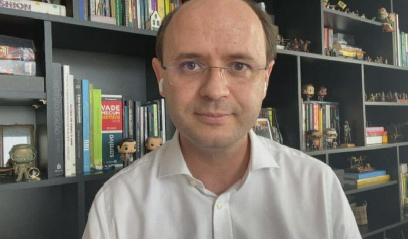 O secretário estadual de Educação de São Paulo, Rossieli Soares, fala à CNN