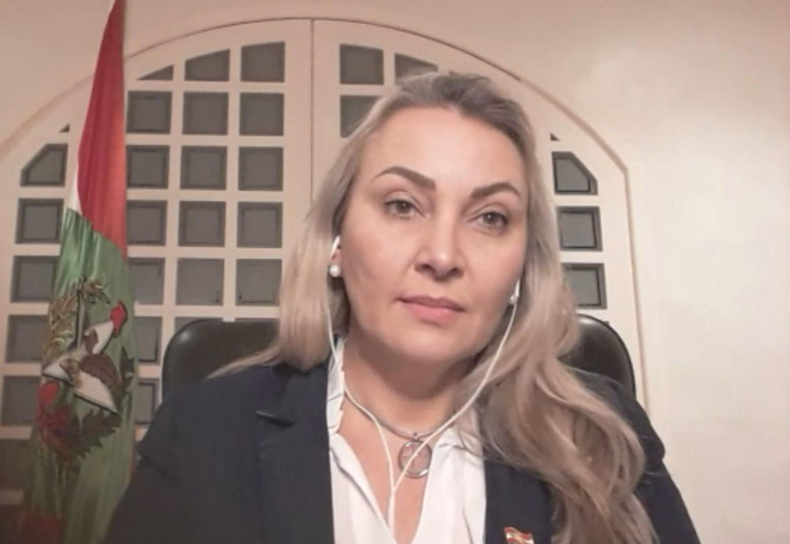 Vice-governadora de SC, Daniela Reinehr (sem partido)