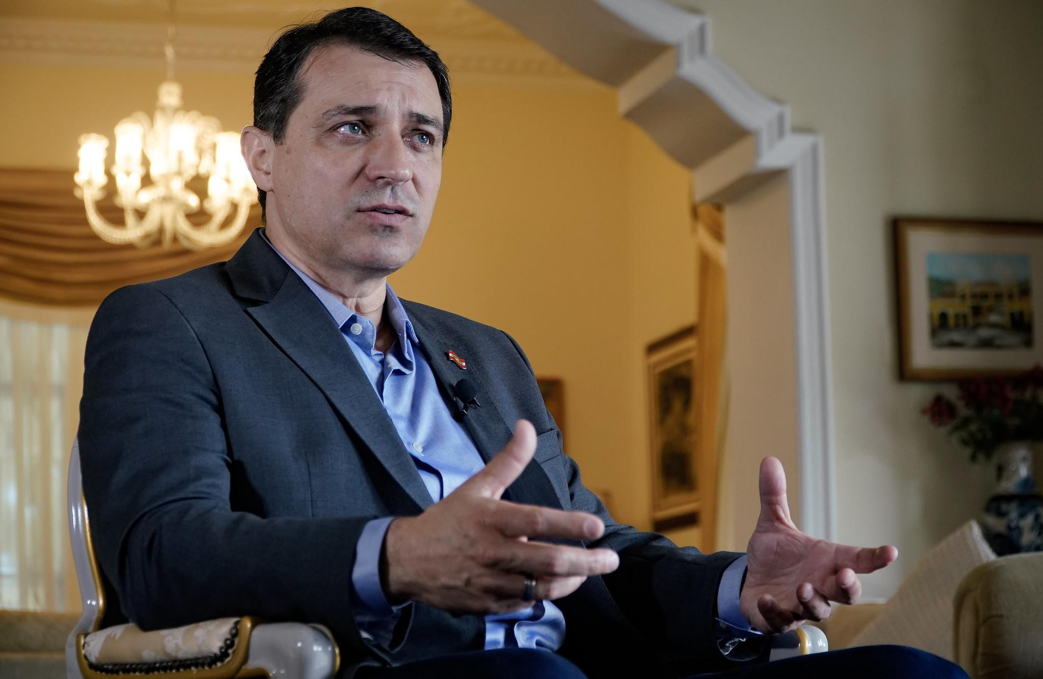 Carlos Moisés, governador de Santa Catarina