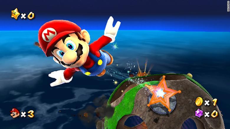 """Mario viaja pelo espaço em """"Super Mario Galaxy"""""""