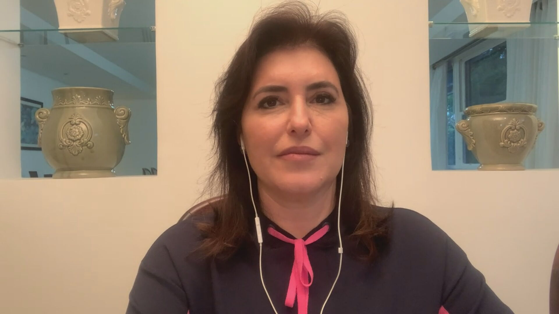 A senadora Simone Tebet (MDB-MS)