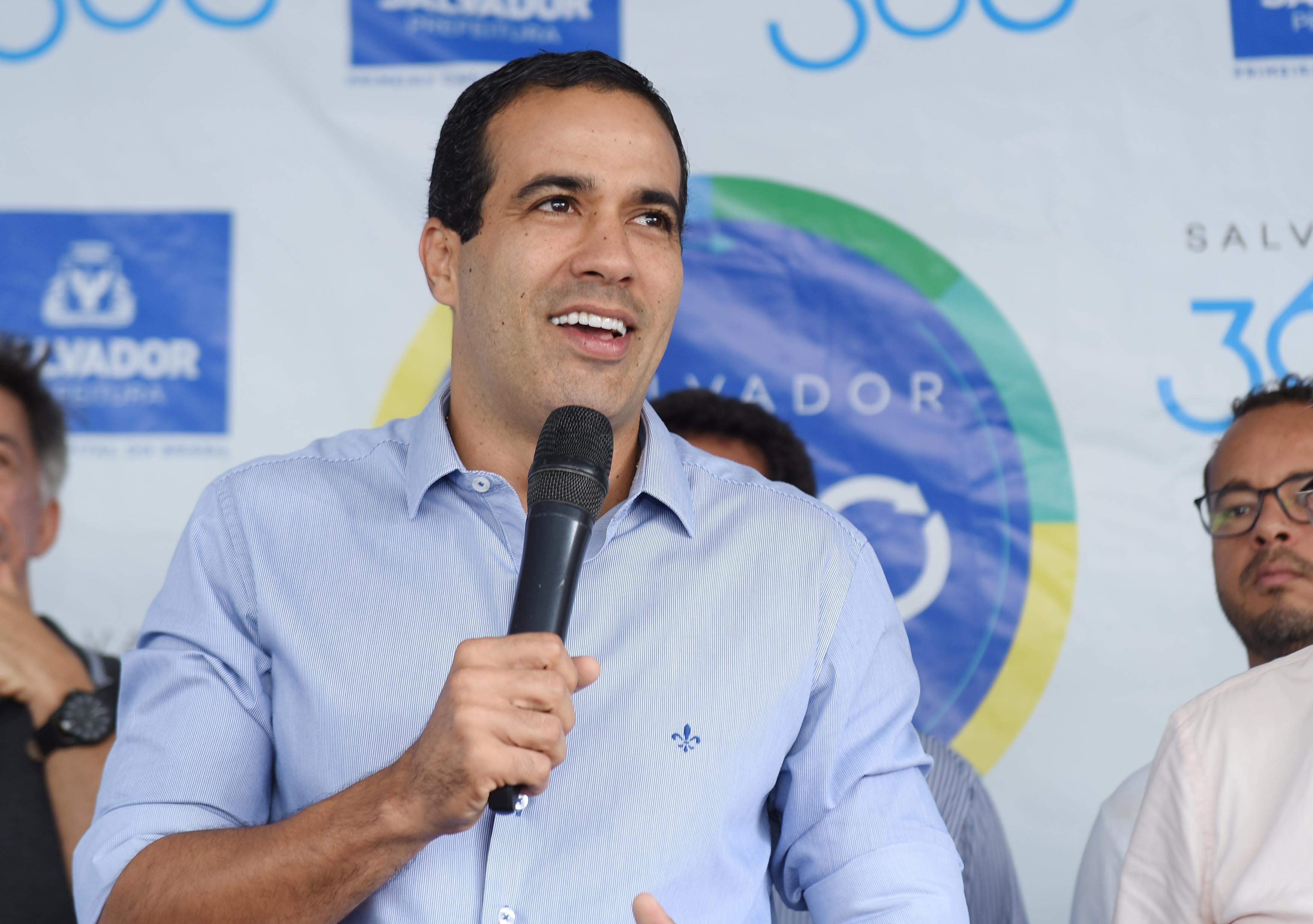 O vice-prefeito Bruno Reis, candidato do DEM
