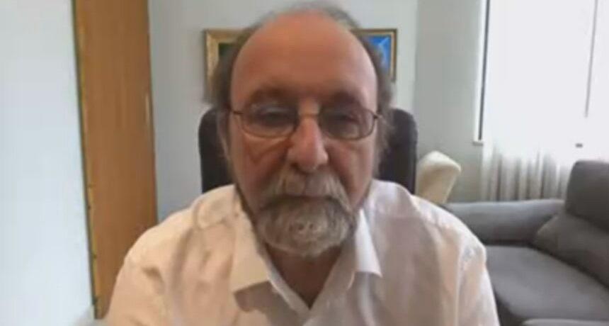 O pesquisador brasileiro Miguel Nicolelis