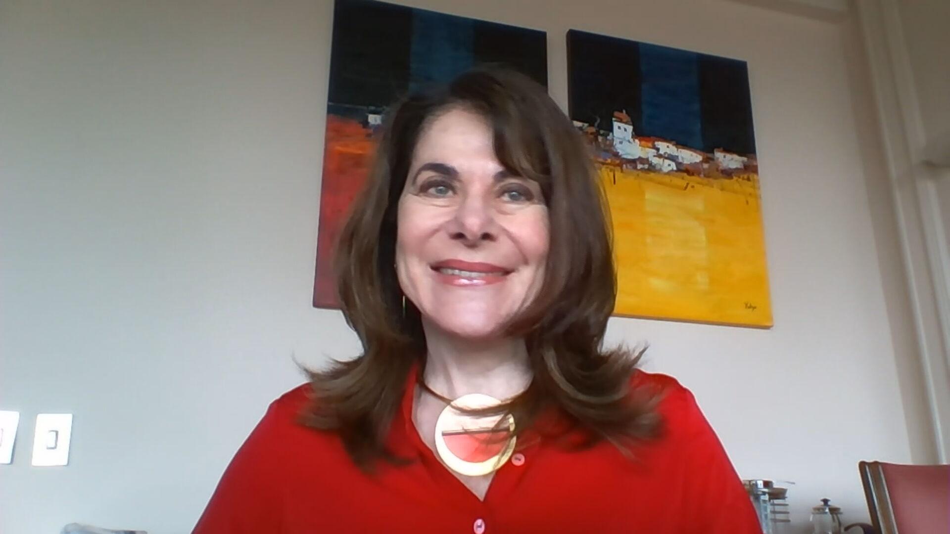 A geneticista Mayana Zatz