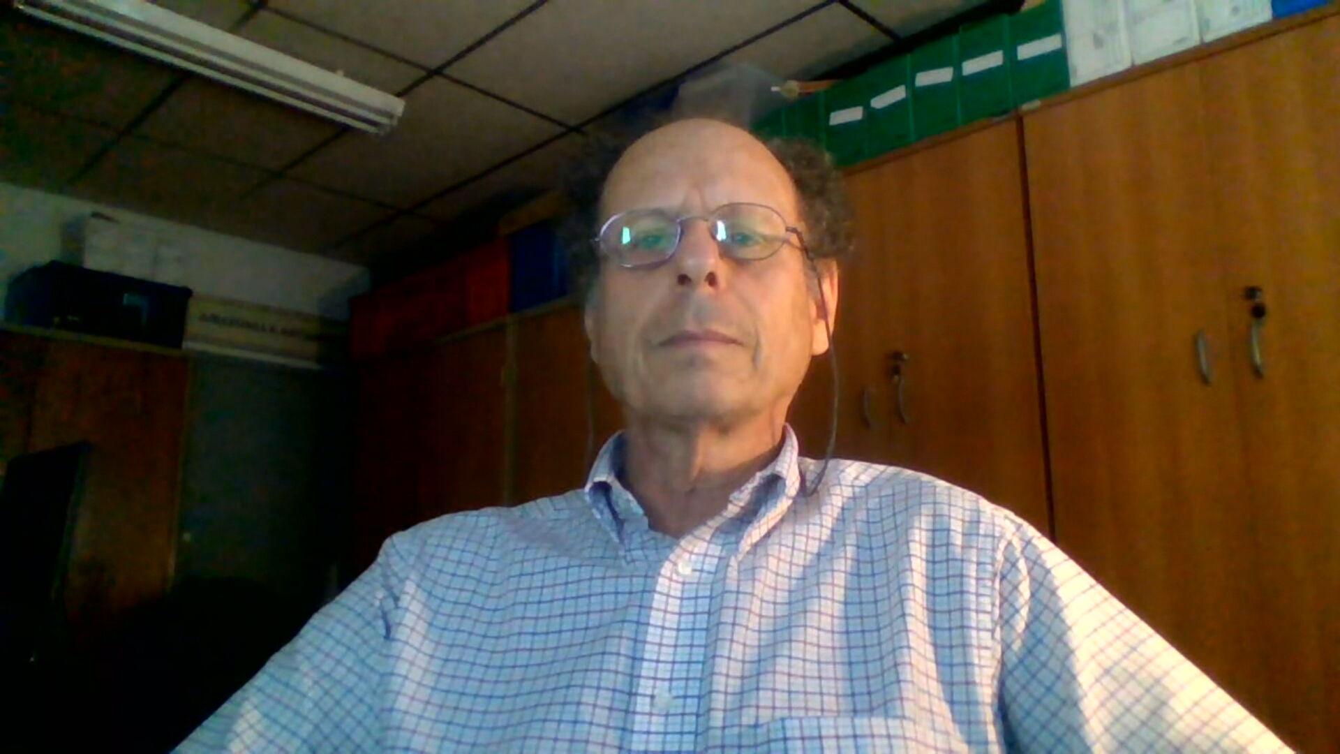 O pesquisador Alberto Setzer, do Programa Queimadas, do Inpe