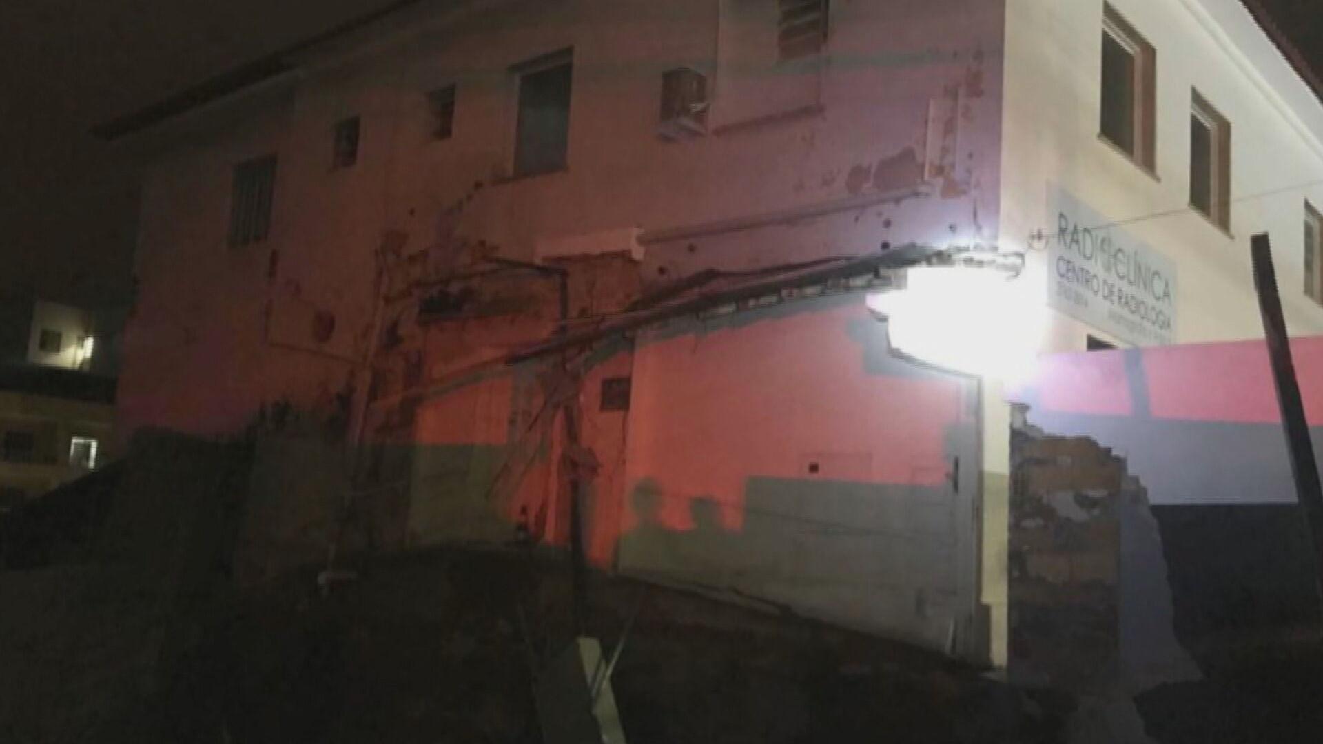 Obra desabou e atingiu hospital de campanha com pacientes da Covid-19 em Conselh