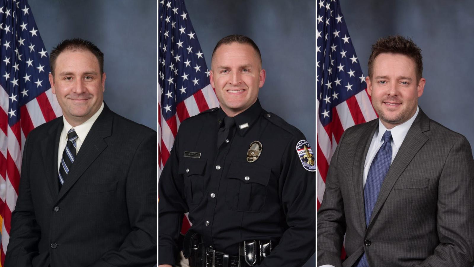 Os policiais de Louisville envolvidos na morte de Breonna Taylor