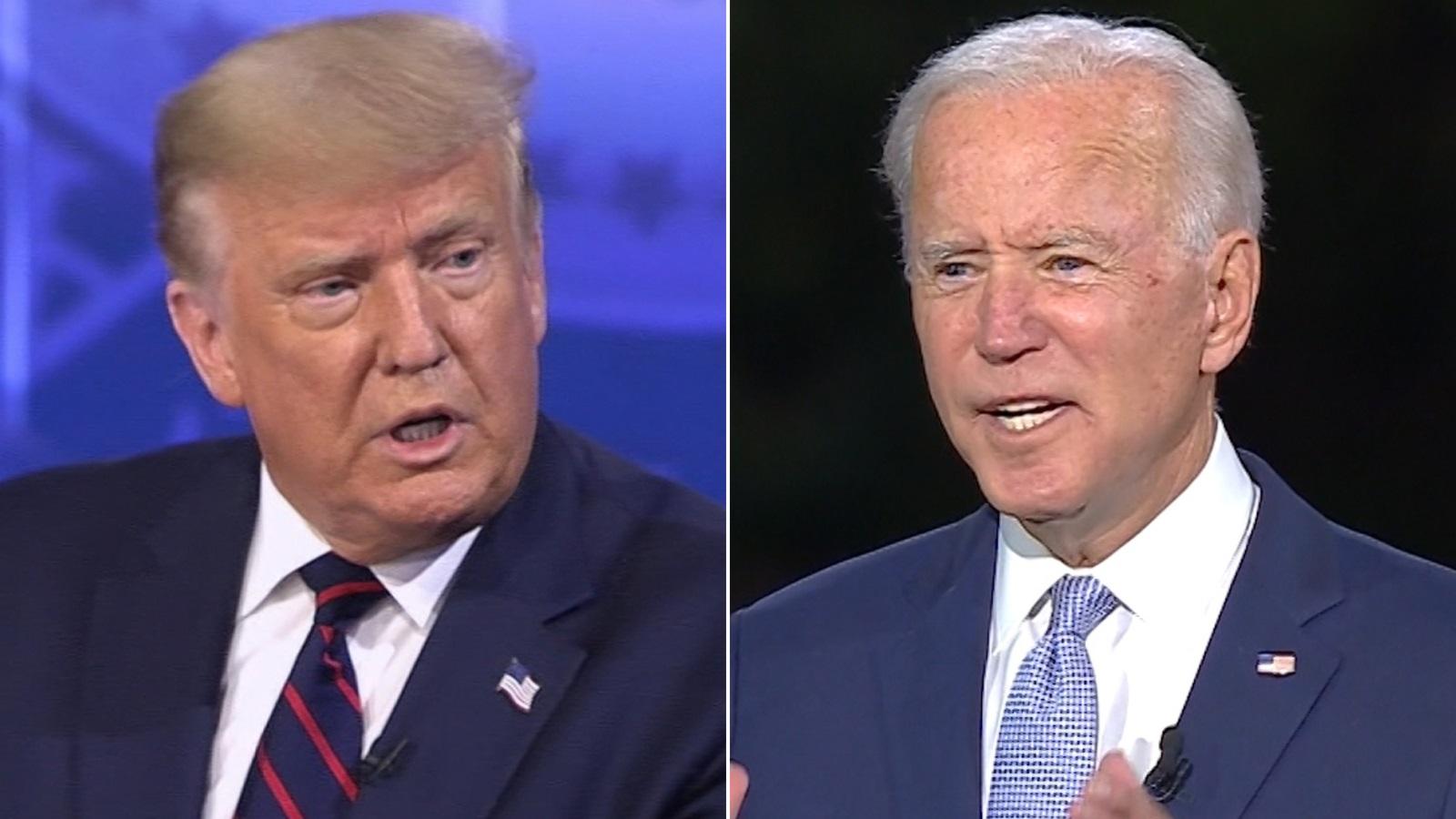 Donald Trump e Joe Biden realizarão primeiro debate nas eleições dos EUA