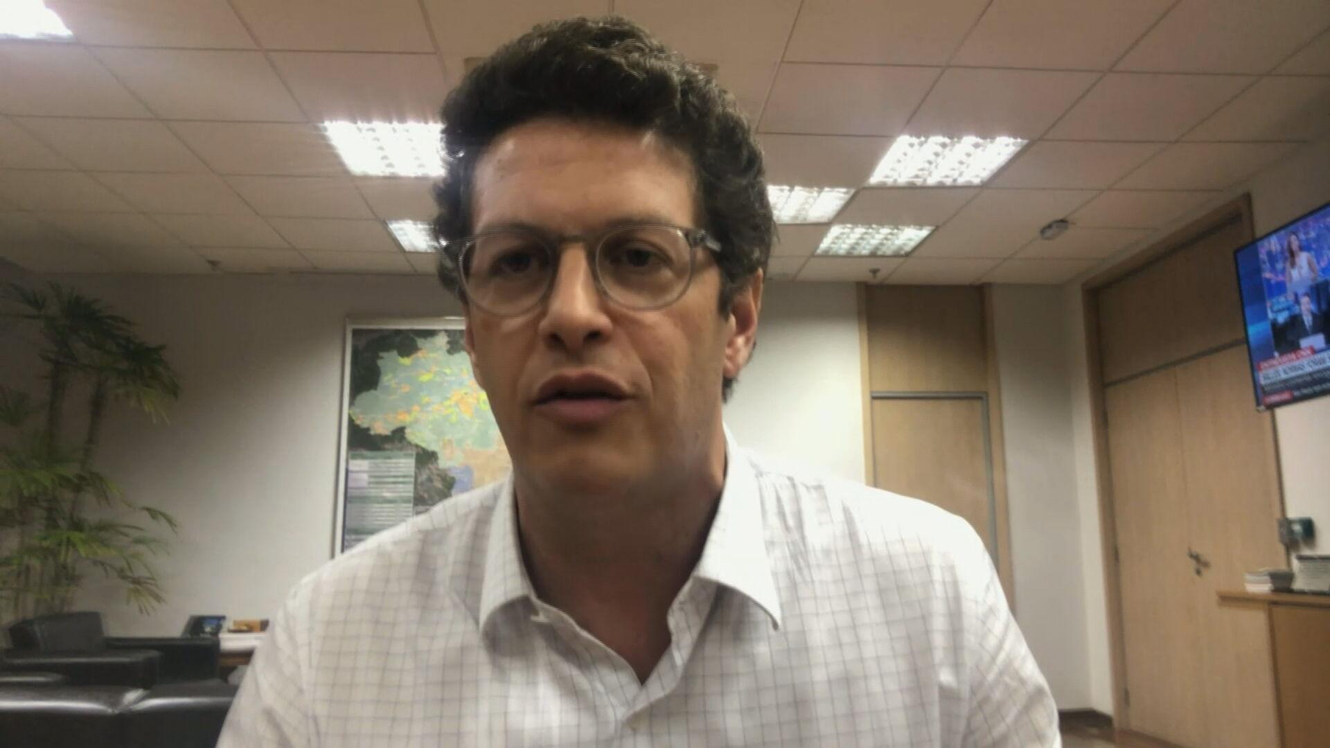 Ministro do Meio Ambiente, Ricardo Salles, em entrevista para a CNN (28.set.2020