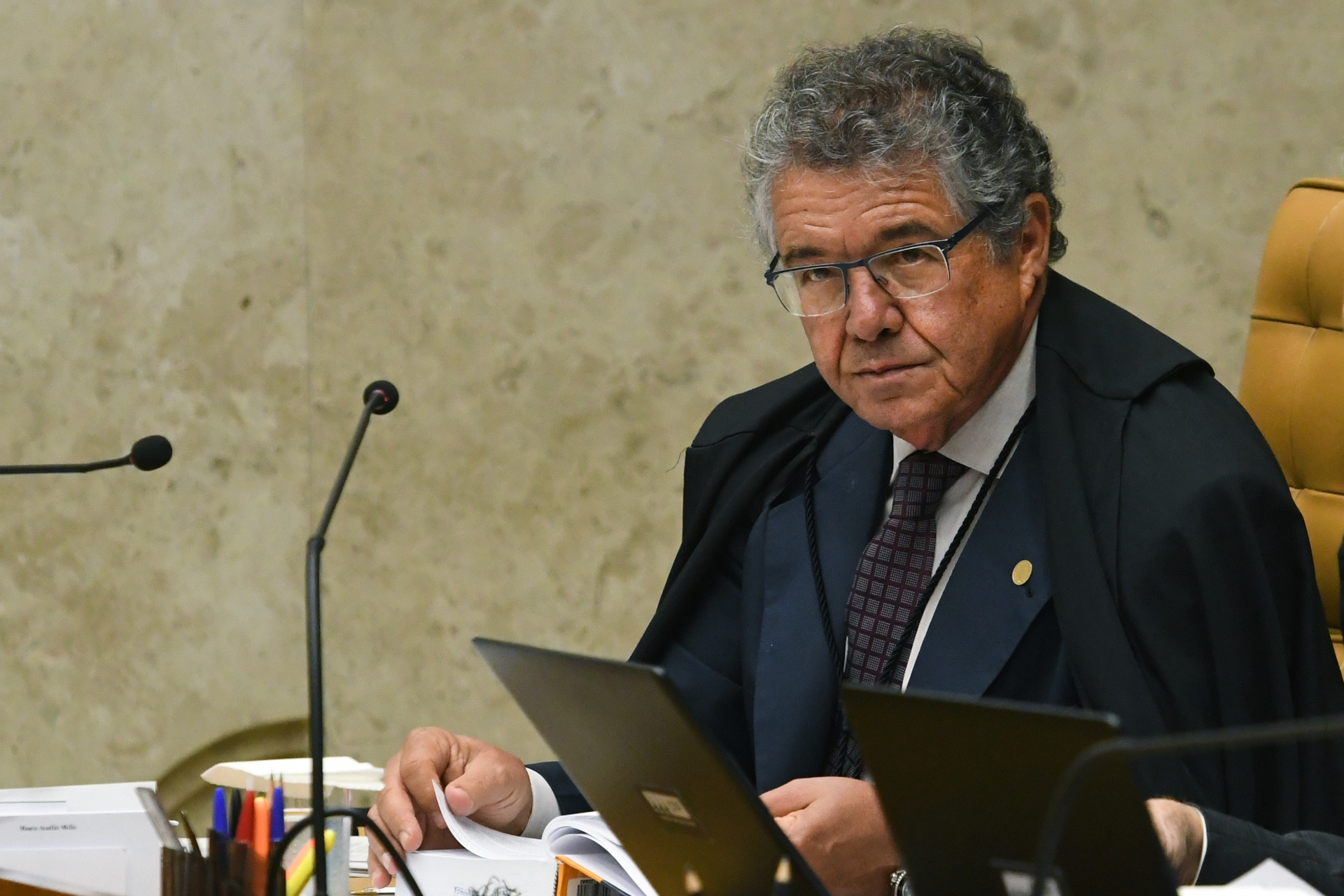 O ministro do STF Marco Aurélio