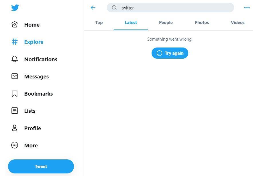 Twitter apresentou instabilidade nesta quinta-feira, 1º de outubro