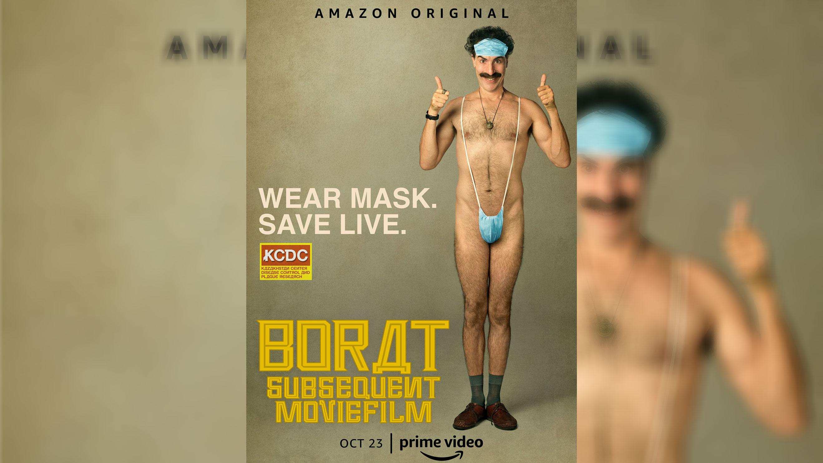 Pôster da sequência de Borat
