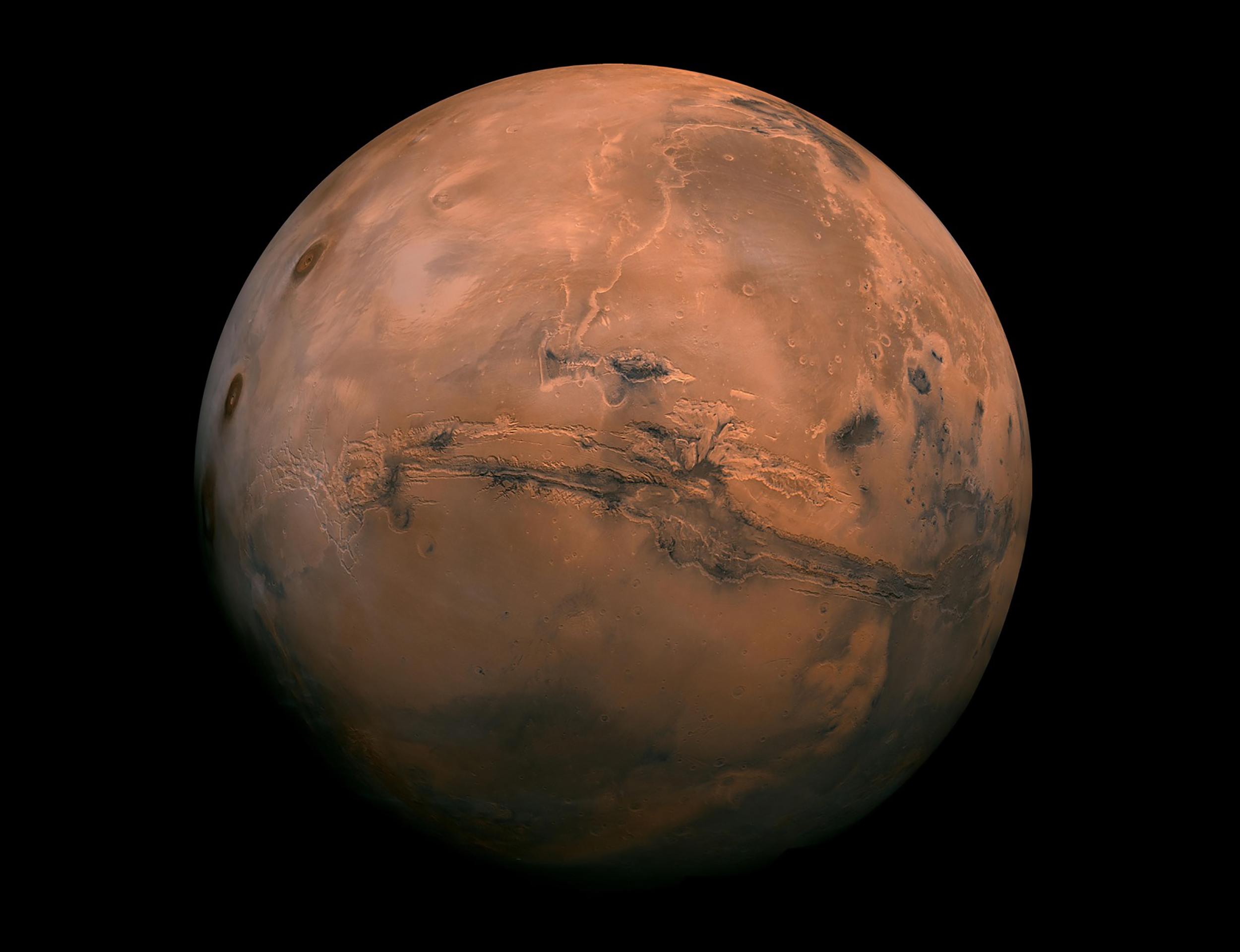 O planeta Marte